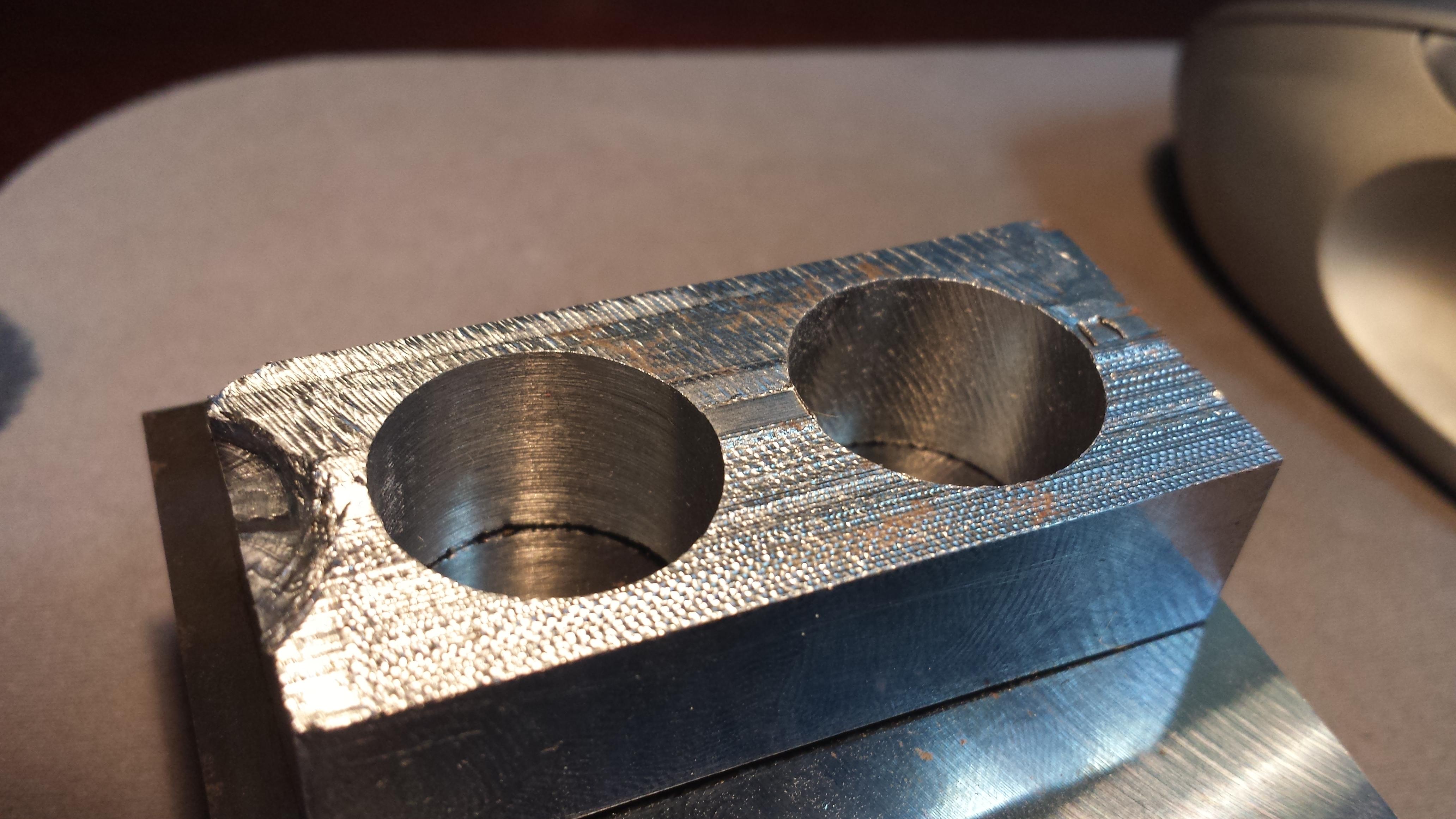WarBlock Receiver Height AR15 Gas Block CNC Machining (9): reaming ...